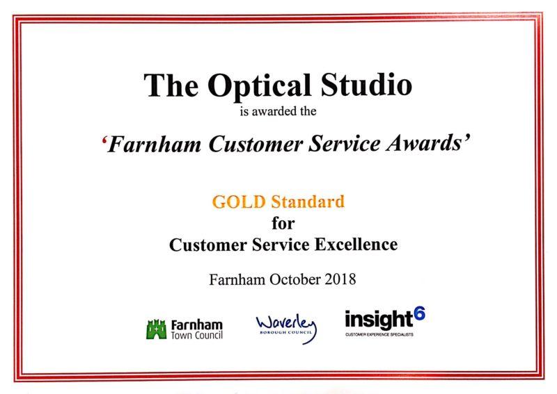 Optical Studio Award Farnham