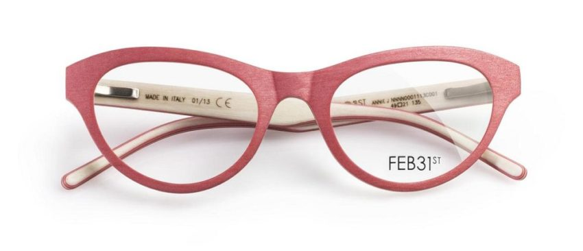 Annie J. from the Total Wood Collection by FEB31st Eyewear in a soft rose. What a beauty!